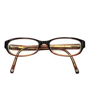 Coach Burgundy Eyeglasses Frames
